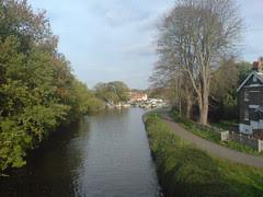 downstream at Sunbury Lock