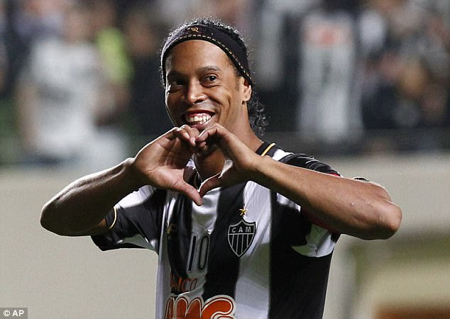 Ronaldinho, 37, has called time on his career as a professional footballer according to his agent