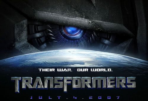 TRANSFORMERS Website Art
