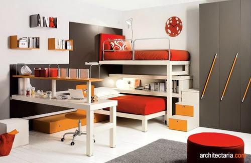 Mendesain Dan Mendekorasi Kamar Anak Kembar (Twin Bedroom) | PT.  Architectaria Media Cipta