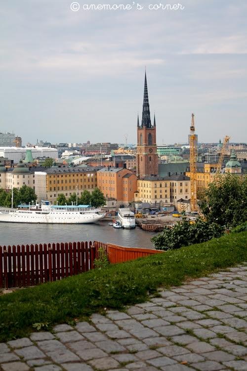 Stoccolma: nel giardino Ivar Los Park..