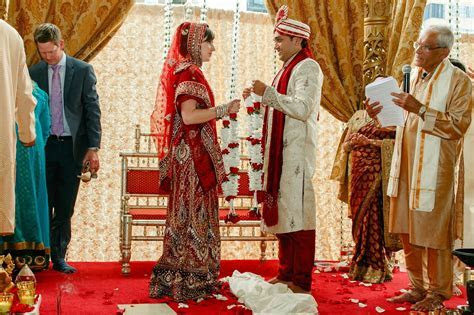 Hindu and Christian Traditions Blended Beautifully