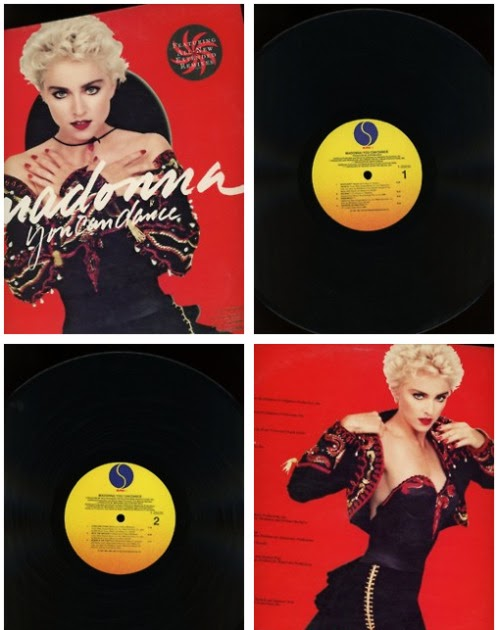 Pud Whackers Madonna Scrapbook You Can Dance 24 Years Ago