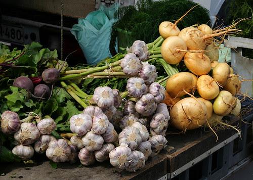 Mmm, fresh garlic