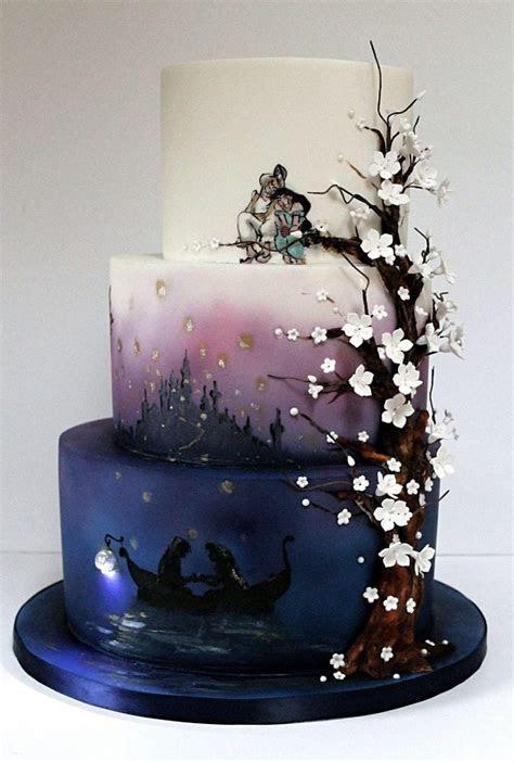 Disney Tangled wedding cake   Alternative Wedding Cakes in