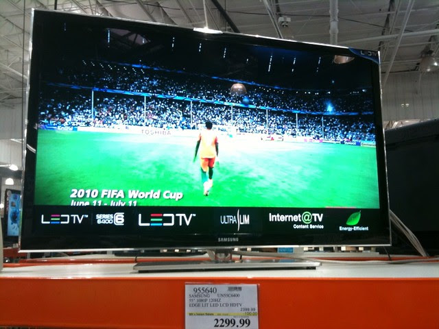 Whoa! Samsung LED TV