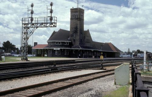 Railway stations in Brantford Ontario