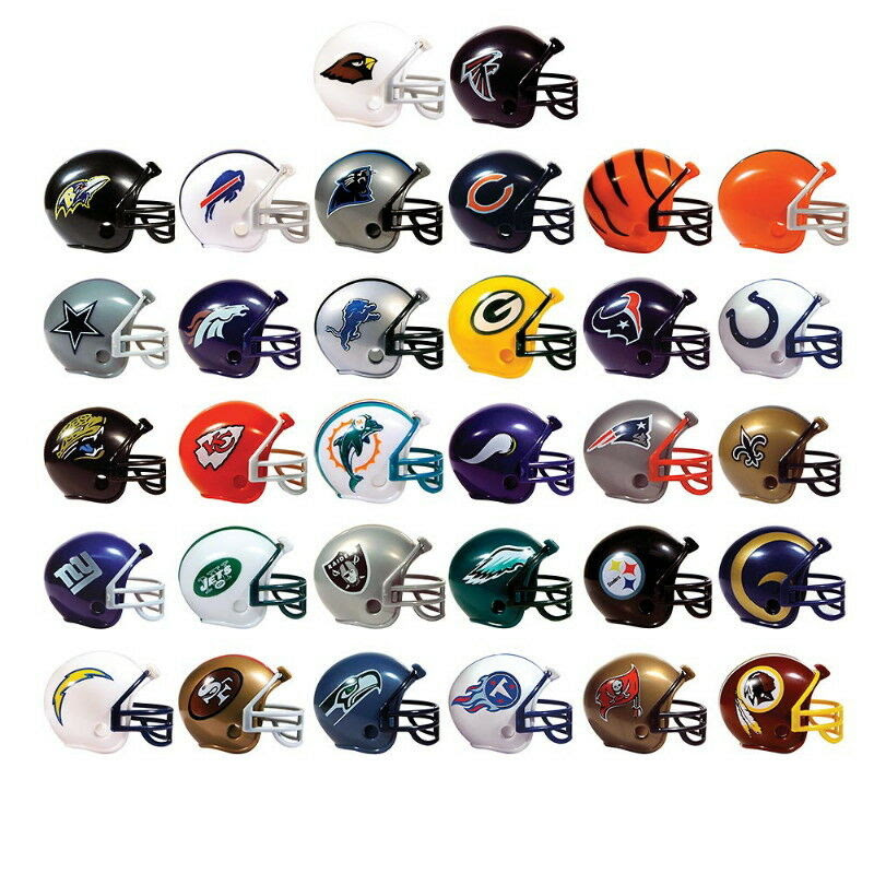 3 SETS MINI NFL FOOTBALL HELMETS, COLLECTIBLE COMPLETE 3 SETS OF 32 TEAMS EACH  eBay