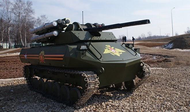 В Российской армии скоро появится первая военная часть, оснащенная боевыми роботами