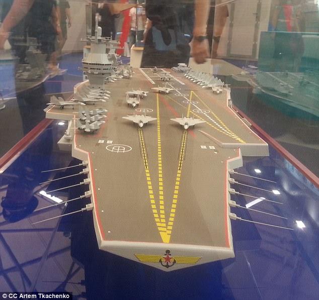 A Rússia está planejando encomendar uma nova classe de porta-aviões, a classe Shtorm, que pode custar até US $ 17,5 bilhões cada e entrar em serviço em 2030