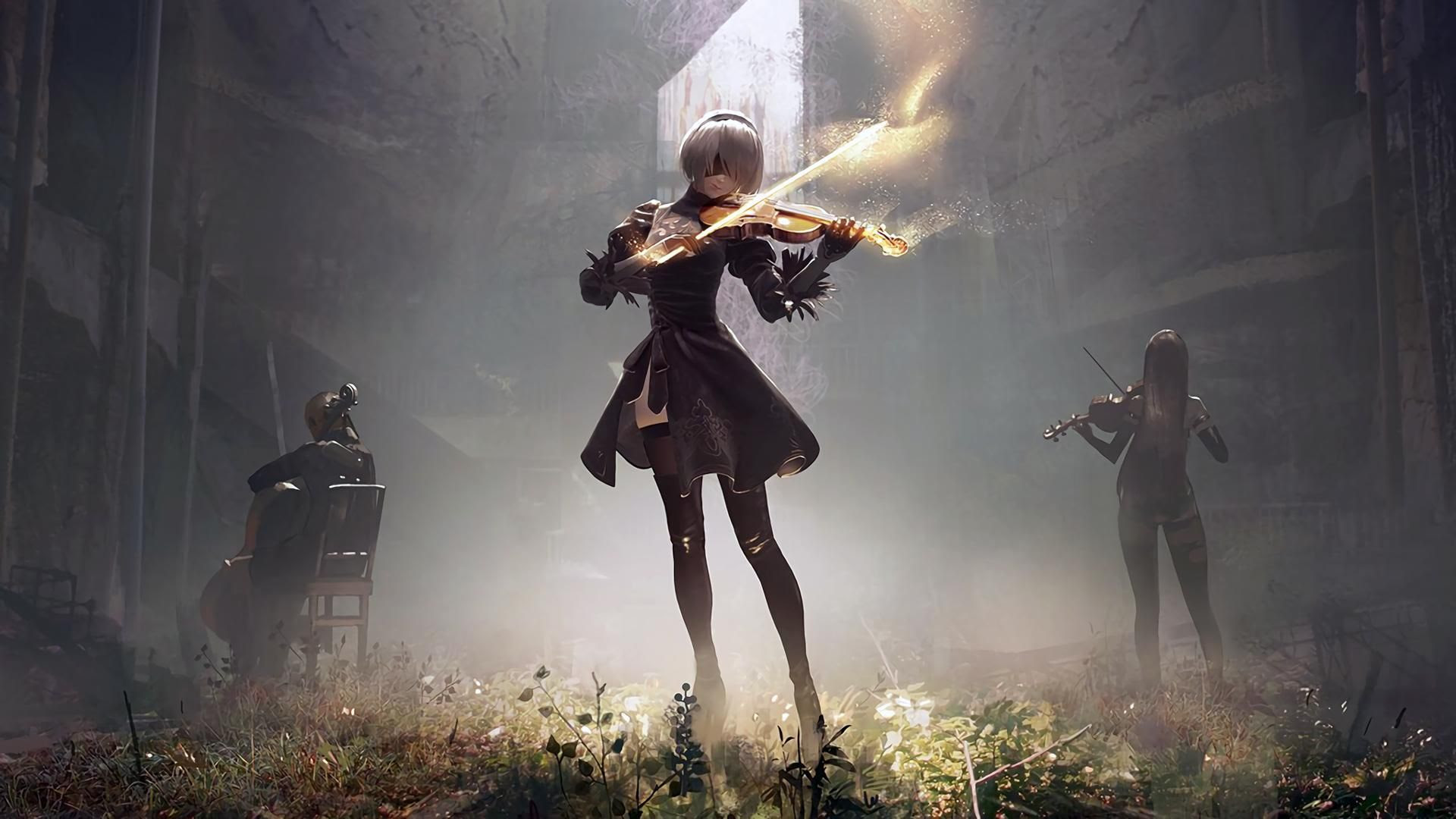 Nier Automata Wallpapers Trumpwallpapers