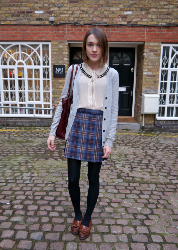 look du jour insta preppy  personal style post
