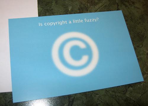 fuzzy copyright by PugnoM, on Flickr
