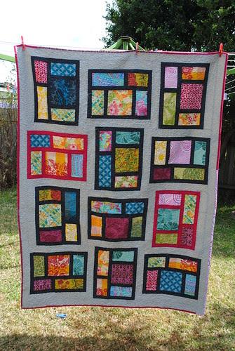 Kitchen Window quilt #2 Finished!!