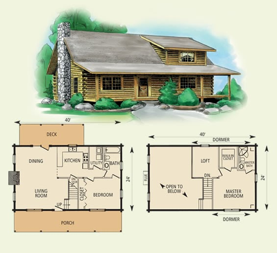 10 x 20 wood cabin plans homedesignpictures for Wood cabin plans