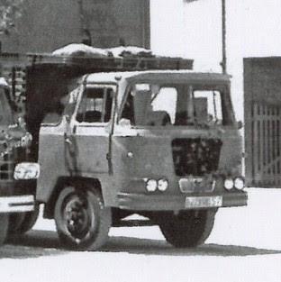 Camió Nazar de l'empresa TRANSPORTS COTXARRERA