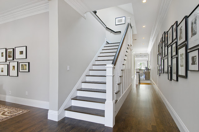 Staircase and Hallway - traditional - staircase - san francisco