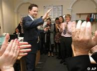 Clegg speaks to party workers