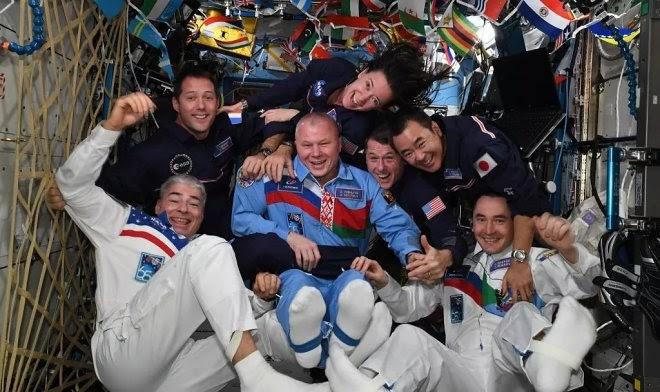 На МКС провели первую в истории Космическую Олимпиаду