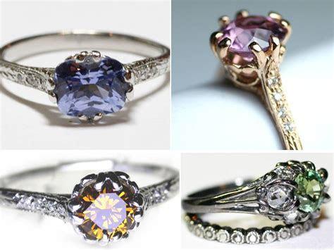 Top Ten Gemstones in Non Diamond Engagement Rings