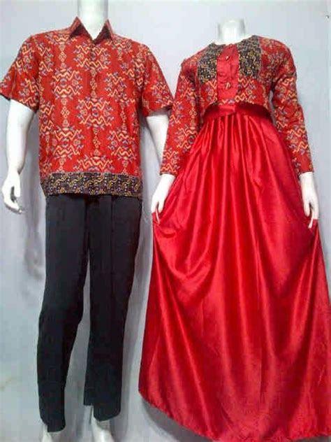 model baju gamis batik muslim call order