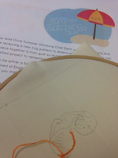 Wild olive summer stitching club