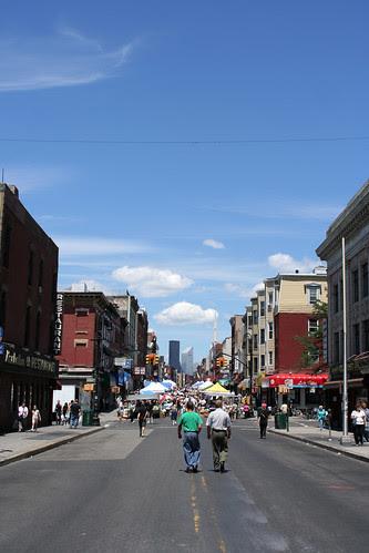 Manhattan Ave street fair