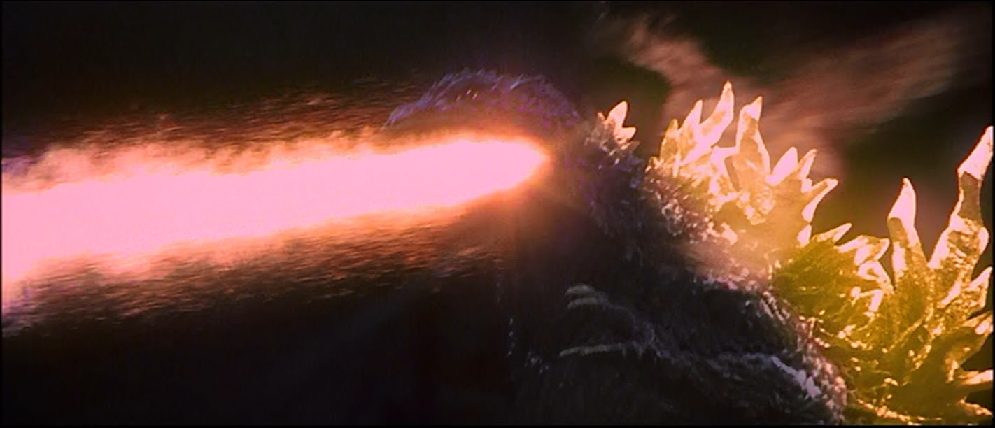 Godzilla's amazingly powerful atomic heat ray