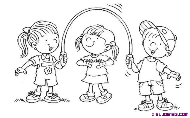 Dibujos De Niños Jugando Barcaselpheeco