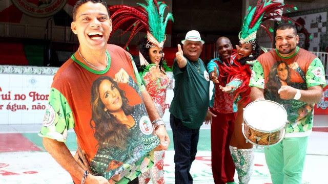 Ivete Sangalo será o enredo da Grande Rio em 2017