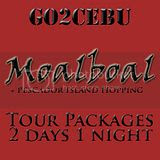 Moalboal + Pescador Island Hopping Tour Itinerary 2 Days 1 Night Package
