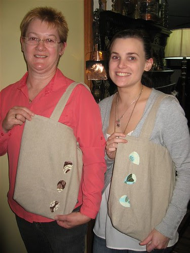 Simple Reversible Tote Bag Workshop Models