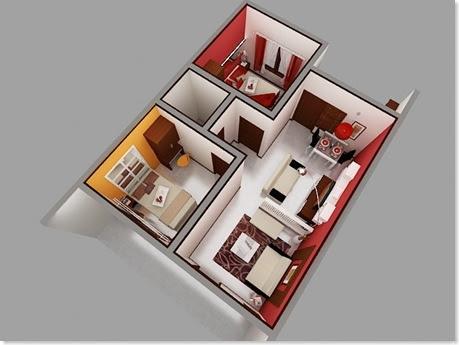 Koleksi Ide Desain Interior Rumah Mungil Minimalis 2017
