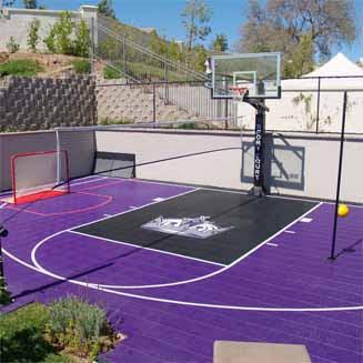 Home Basketball Court Backyard Tennis Courts Basketball Court