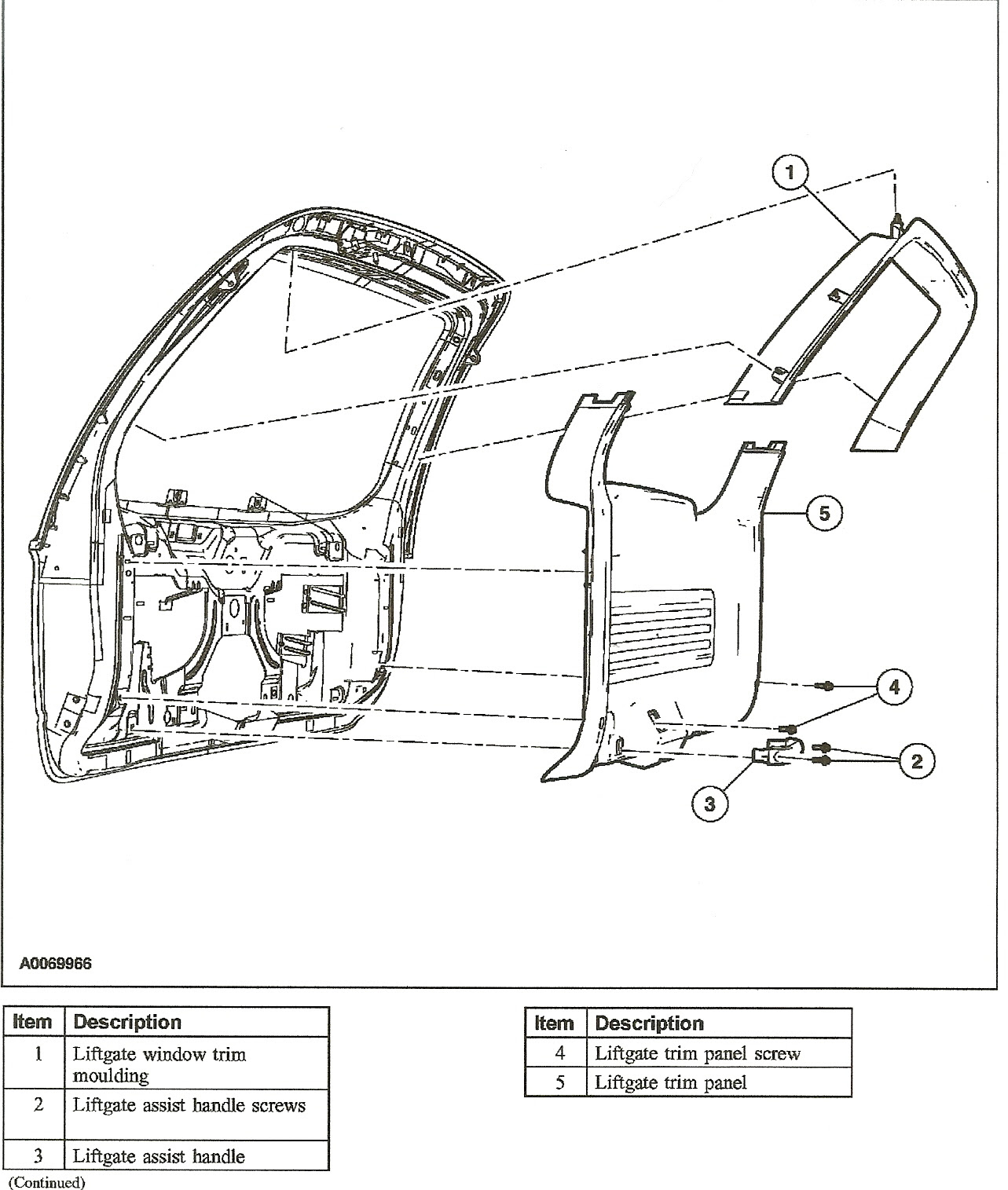 99 expedition tailgate wiring harness image 6