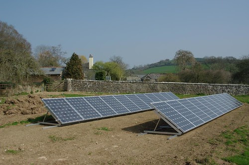 Devon ground mount solar PV by ChrisRudge