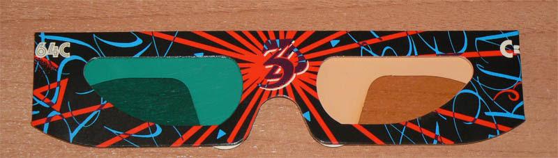 Gafas 3D Commodore 64