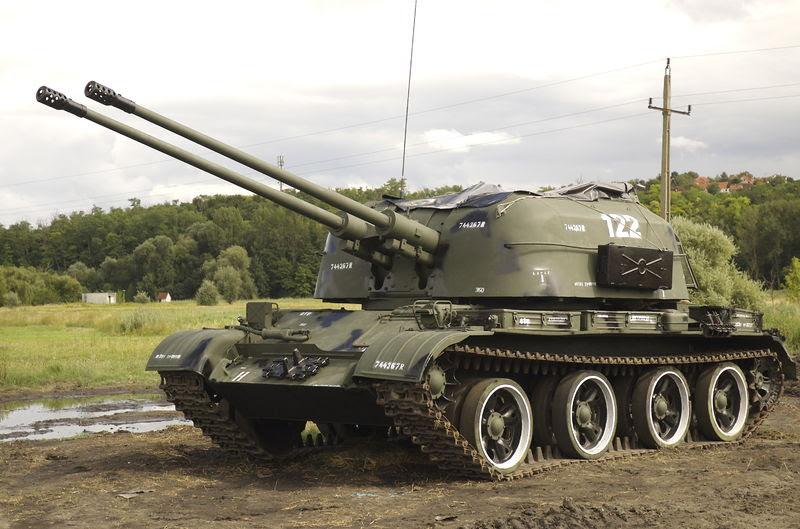 Resultado de imagen para ZSU-57-2 (SPAAG)