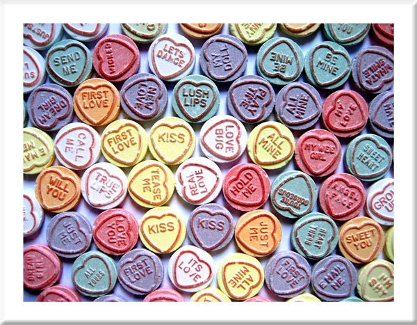 Love Heart Sweets Images Lots Of Love Hearts Wallpaper And
