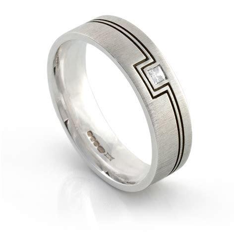 Diamond, Men's, Patterned Ring IDF241 ? I Do Wedding Rings