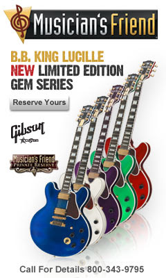 B.B. King Lucille New Limited Edition Gem Series