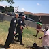 """""""I'm scared"""" Black man screams as numerous cops draw guns on him and his 90-year-old grandmother (video)"""