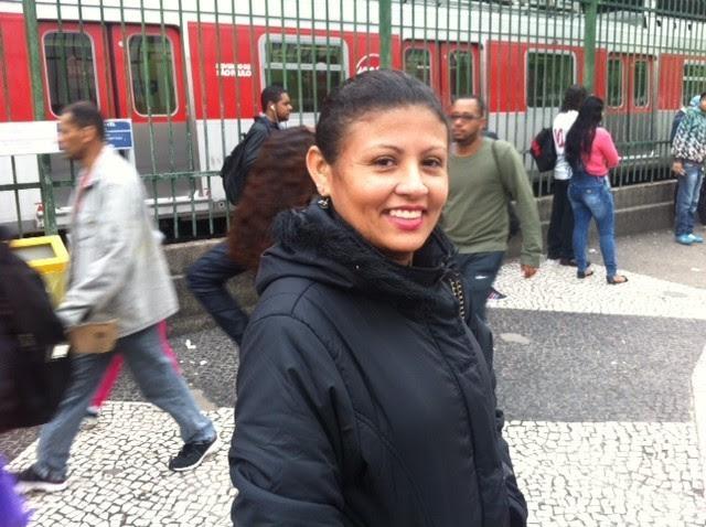 Francisca Tita teve que improvisar para conseguir ir de Ferraz de Vasconcelos, na Grande SP, até Guaianases