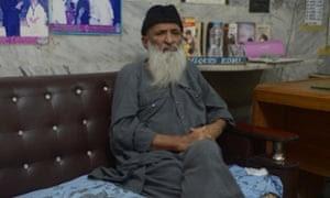 Charity worker Abdul Sattar Edhi, head of Pakistan's Edhi Foundation.