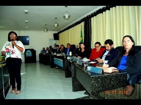 João Câmara: Vídeo na integra da Sessão ordinária da Câmara de vereadores em 29.07.2019, com a participação da diretora da III URSAP Tiquinha