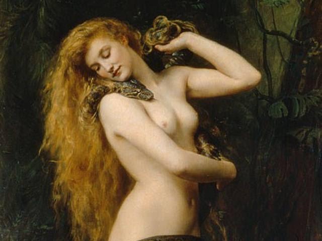 'Lilith' (1892), por John Collier.