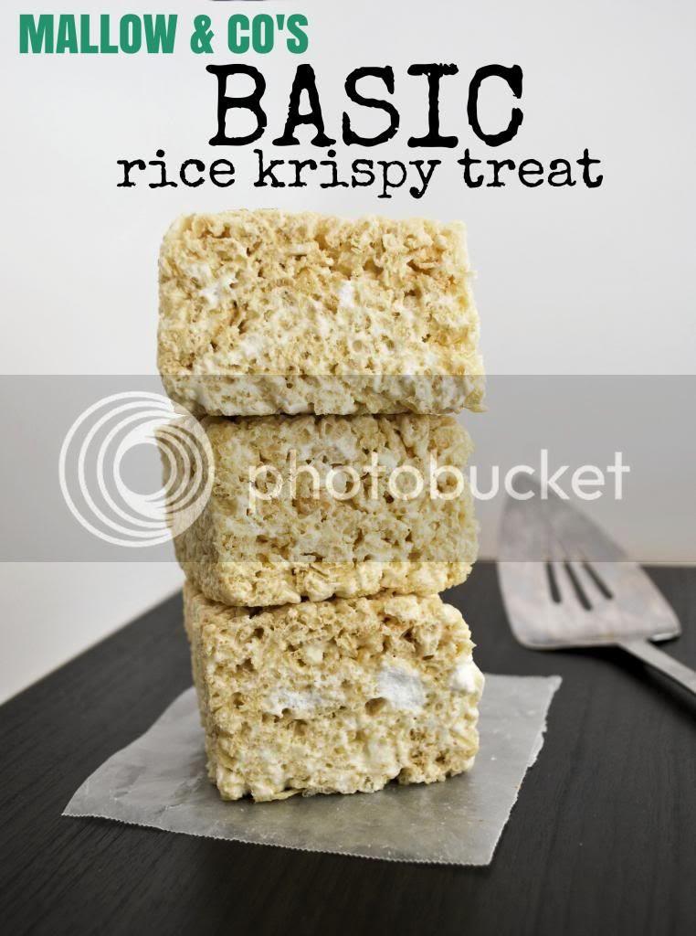Mallow and Co: Basic Rice Krispy Treats