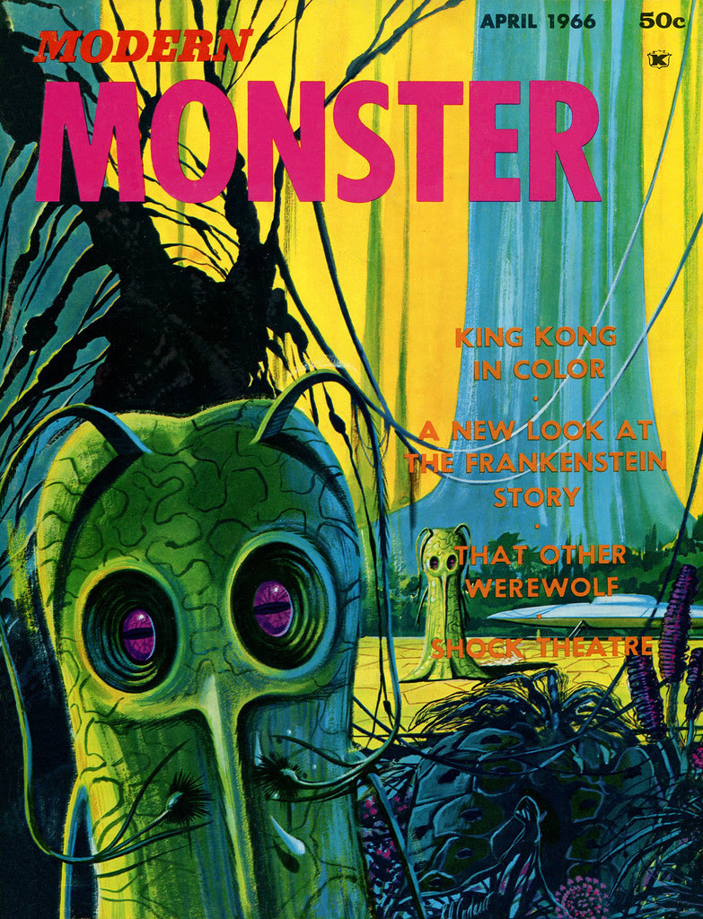 Bob Cadaret - Modern Monster 1 (1966) Cover