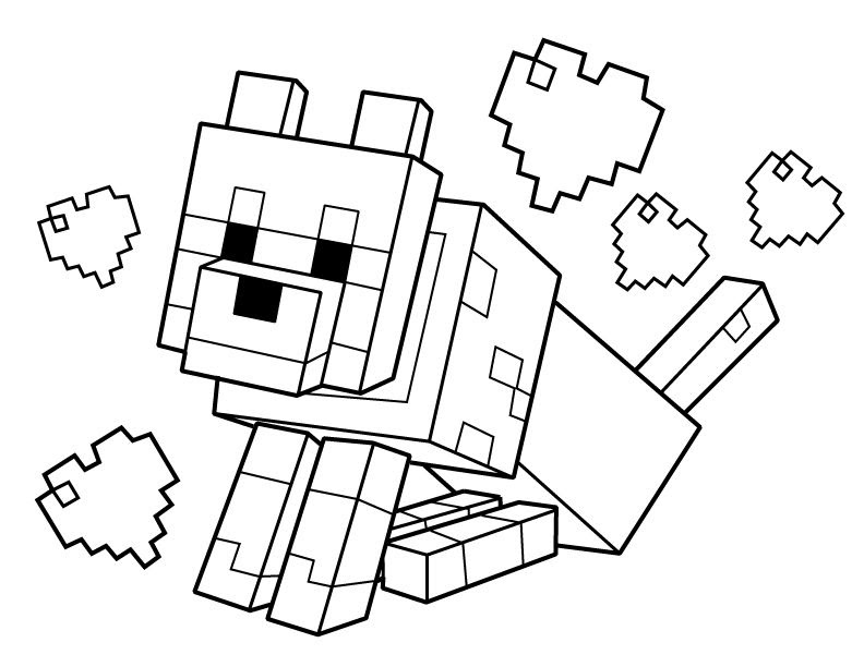 Minecraft Coloring Pages Pick Axe - Lautigamu