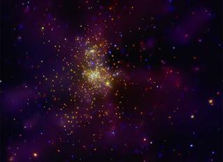 Westerlund 2: cúmulo estelar visto por el Chandra